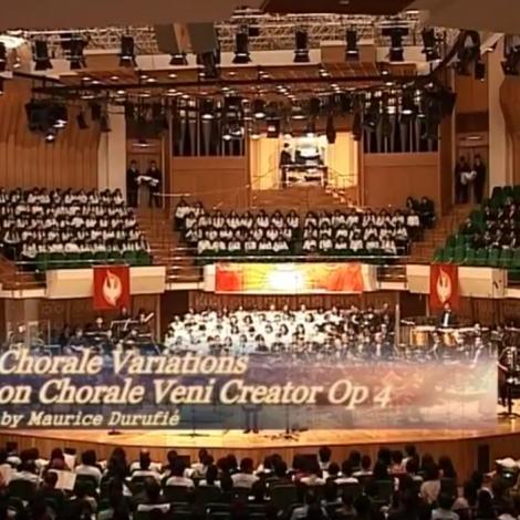 第七屆聖詩頌唱會 06 Choral Variations on Chorale Veni Creator Op 4(風琴)