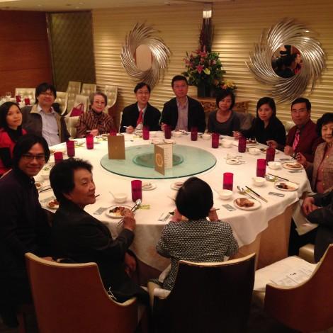 2013年董事與委員敘餐