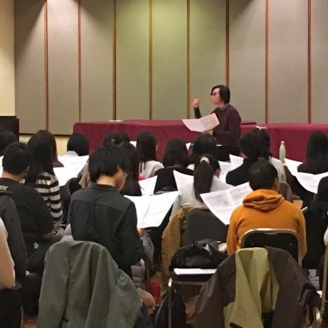 第十三屆聖詩頌唱會練習